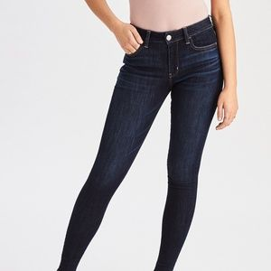 AE Ne(X)t Level Hi-Waist Jegging Dark Wash NWT